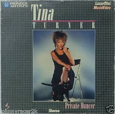 "TINA TURNER Private Dancer 8"" Laserdisc 80's Videos LD ""What's Love Got to do"""