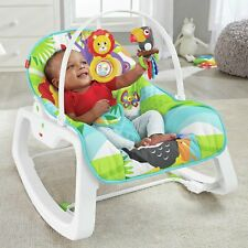 Fisher Price Multi-position 3 point harness Vibrates Infant To Toddler Rocker