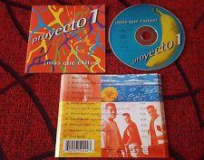Merengue House PROYECTO 1 ***¡Más Que Exitos!*** RARE 1997 Spain CD SANDY & PAPO