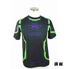 NEW Eva Racing 2017 T shirt EVA-01 TEST TYPE BODY Black L-size Evangelion Japan
