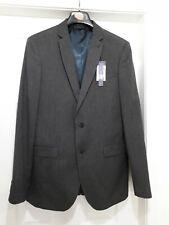 "Primark Suit Jacket Blazer 42"" Long Slim Fit Charcol Grey BNWT"