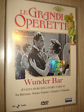 DVD LE GRANDI OPERETTE WUNDER BAR ISA BARZIZZA ENRICO VIARISIO GIANRICO TEDESCHI