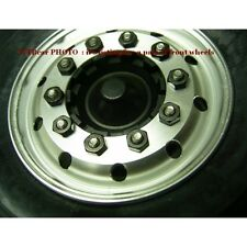 1/14 rc car truck 1 pair CNC wheel front wheel for Tamiya Man r620 wide ver