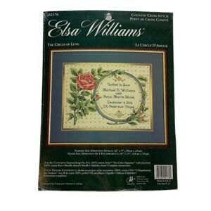 Elsa Williams Counted Cross Stitch Kit The Circle of Love 02176 Needlepoint