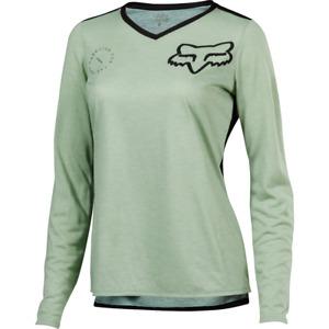 Fox Racing Women's Indicator ASYM Long Sleeve Jersey Sage