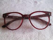 Marma London red glasses frames. MAE079.