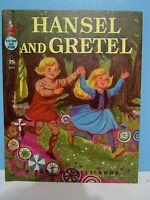 "VTG.1960 A RAND McNALLY BOOK ""HANSEL & GRETEL"" COLOR ILLUSTRATIONS, EX CONDITION"