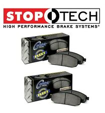 For Chevrolet GMC Hummer Front & Rear Left & Right StopTech Fleet Brake Pads Set