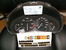 Velocímetro combi instrumento peugeot 206 diesel 9645096080 Speedometer cluster 170tkm?