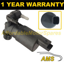 FOR PEUGEOT 307 2002- FRONT & REAR TWIN OUTLET WINDSCREEN WASHER WATER PUMP
