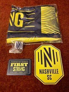 Nashville SC Founding Member First String Scarf Pin Sticker Magnet