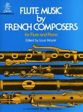 FLUTE MUSIC BY FRENCH COMPOSERS Moyse FLUTE PIANO