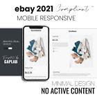 Professional eBay Listing Template Responsive Minimal Design 2020 CC