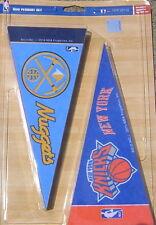 "NBA Teams 4"" X 9"" Mini Pennant Set - Complete Set of all 30 NBA Teams FREE SHIPP"