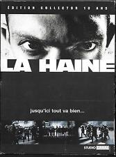 COFFRET 3 DVD ZONE 2 DIGIPACK--LA HAINE--KASSOVITZ/CASSEL