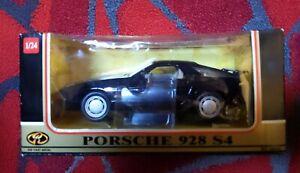 Motor Max Porsche 928 S4 1:24 scale Die Cast NOS in Box Black