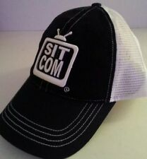 TV SIT COM HAT CAP GRAPHIC NEW 3-D EMBROIDERED TEXT NATION TRUCKER