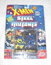 X-Men Steel Mutants - Cyclops vs. Mr. Sinister - MOC 100% complete (TOY BIZ)