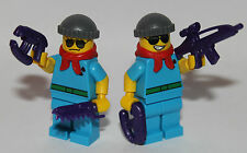 2 TWO FACE'S HENCHMEN - LEGO MINIFIGURES - CUSTOM WEAPON GOTHAM CITY