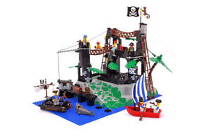 Lego Pirates I Set 6273 Rock Island Refuge 100% complete vintage rare 1991