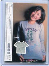 JAPANESE IDOL Mayumi Ono COSTUME WORN SWATCH CARD 14/570