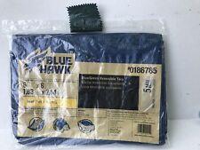 New Blue Hawk Blue Green Reversible Tarp 6X8 Small 5 Mil Grommets 0186785