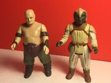 VINTAGE 1984 KENNER STAR WARS ACTION FIGURE RANCOR KEEPER KLAATU JABBA HUTT ROTJ