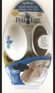 Original Ped Egg Professional The Ultimate Foot File As Seen On TV Improved NEW