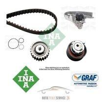 Ina Zahnriemensatz und Wasserpumpe Spannrolle Iveco Daily Fiat Multijet 150 2,3