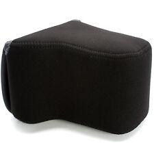 Olympus E-5 D-SLR Body 24-70mm Lens NEOPRENE PROTECTOR Camera Case Bag