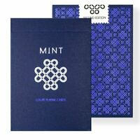 Mint 2 Playing Cards Blueberry Edition Magic Deck Marking System
