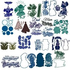 Bird Mouse Animals Letters Flower Metal Cutting Dies Scrapbooking Embossing DIY