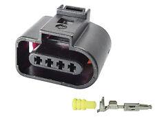 1J0973704 1.5 mm Sealed Black Female VW Connectors 4 PIN CONNECTOR PLUG