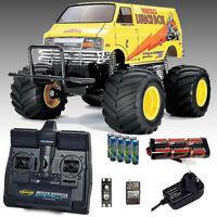 TAMIYA Lunch Box RC Car Kit Deal Bundle - Everything you need 58347
