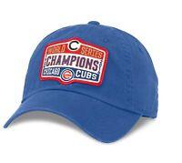 MLB American Needle Chicago Cubs World Series Champions Adjustable Crew Hat