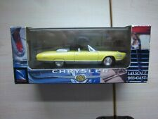 NEW-RAY 1/43 1964 CHRYSLER TURBINE CAR YELLOW