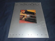 1998 GMC Envoy SUV Color Brochure Catalog Prospekt