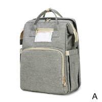 1* Large Capacity Diaper Bag Backpack Baby Bed Bed Bag Crib Waterproof L9H4