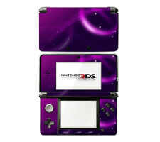 Vinyl Skin Decal Cover for Nintendo 3DS - Abstract Purple