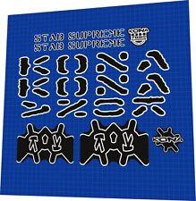 KONA STAB SUPREME 2006 FRAME DECAL SET