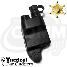 Replacement QUICK RELEASE ADAPTER for M/A-Com Radios EP527 Tactical Ear Gadgets
