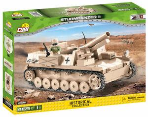 Cobi 2528 - Sturmpanzer II Self Propelled Gun (465pcs) - Building Blocks - (DAK)