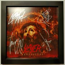 SLAYER – Repentless –  1st press vinyl – FULLY SIGNED by SLAYER!
