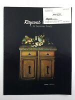 Vintage 1970s Raywal Kitchen Bathroom Cabinets Sales Brochure Ontario N522