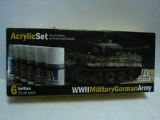 ITALERI ACRYLIC COLOR SET - WWII MILITARY GERMAN ARMY