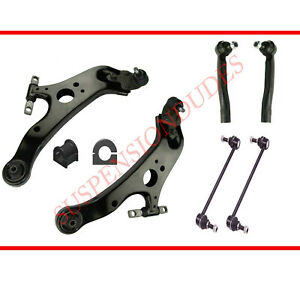 10PC Front Suspension Kit FITS 2011-2019 Toyota Sienna