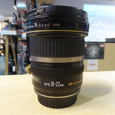 Used Canon EF-S 10-22mm f3.5-4.5 USM lens - 1 YEAR GTEE