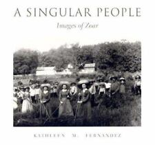 A SINGULAR PEOPLE:IMAGES OF ZOAR(1973 HARDBACK BOOK)