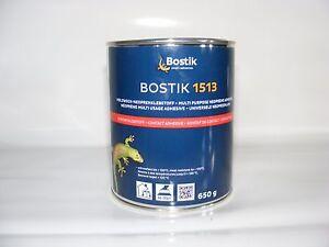 Bostik 1513  650g, Wärmebeständiger Kontaktklebstoff für Autohimmel, Neoprene...