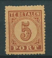 1881TG Nederland Portzegel  P1 postfris mooi zegel zie foto's.